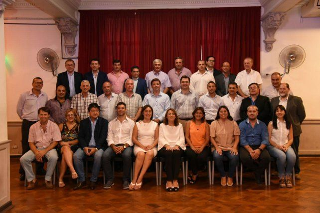 Cumbre. Los mandatarios se reunieron en Rosario.