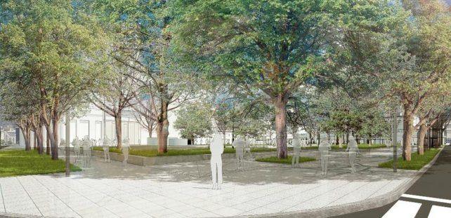 El Concejo analiza el proyecto para remodelar la Plaza del Soldado