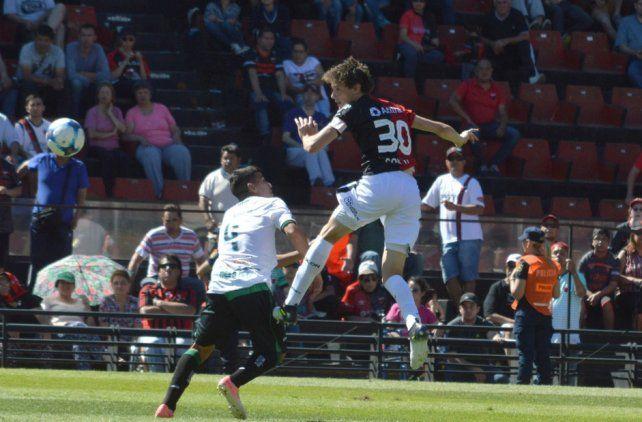 Germán Conti juega al límite