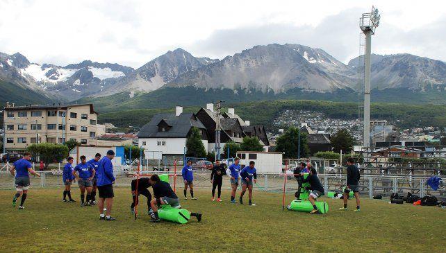 Argentina XV juega en Ushuaia