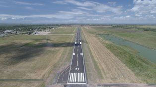 simoniello: la inversion provincial en el aeropuerto esta dando sus frutos