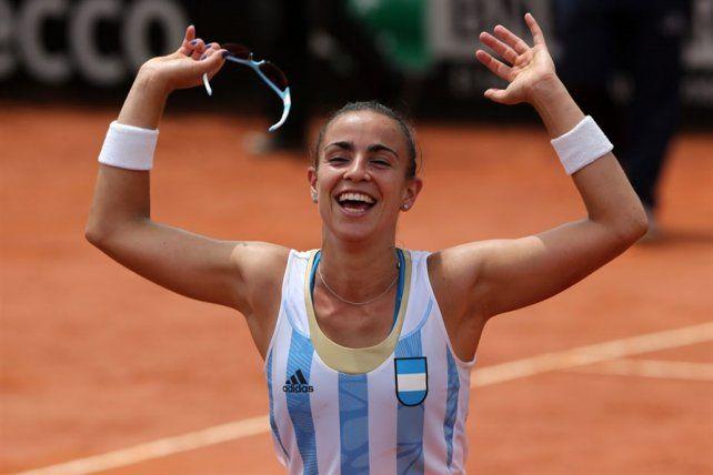 Argentina buscará ante Brasil llegar a la final de la Fed Cup