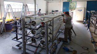 Se incrementará el 50% de la producción de agua potable en Gálvez
