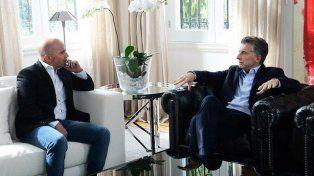 Mauricio Macri y Jorge Sampaoli, un encuentro secreto en Olivos