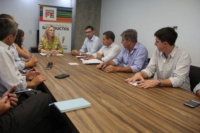 Concejales del Frente Progresista reclamaron por el gasoducto de la costa