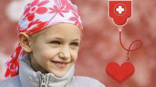 Para luchar contra el cáncer infantil, convocan a donar vida en vida