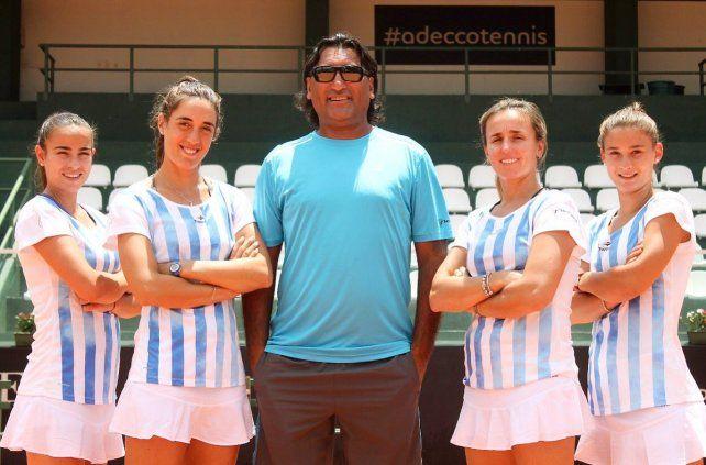 Argentina cierra su mal paso por la Fed Cup ante Colombia