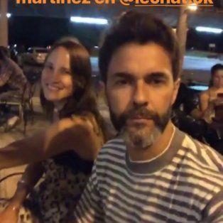 Mariano Martínez pasa su fin de semana en Santa Fe