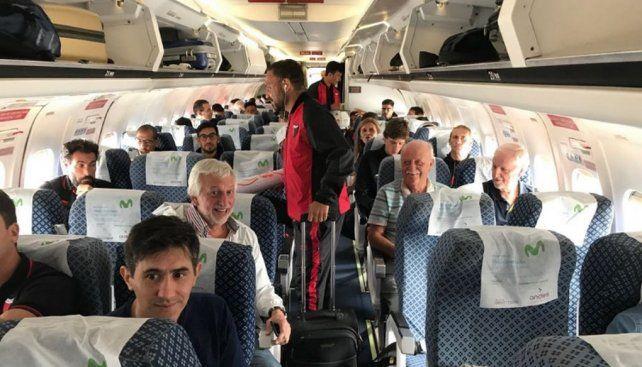 El Sabalero en viaje a Venezuela