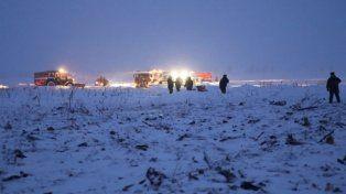 El video del momento en que se estrella el avión ruso