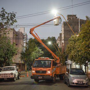 Recambio. Se optimizará la iluminación de 744 cuadras.