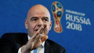 Infantino: El Mundial de Rusia será el mejor de la historia