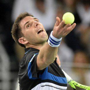 delbonis se metio en los octavos de final del argentina open