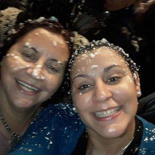 Mónica Outeda, de 51 años, y su hija María Soledad Bueno, de 25 años, más conocida como Mayra.