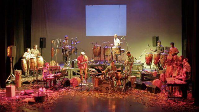 Emparche.La ensamble de percusión santafesina estará presente en el Mercado Progreso.