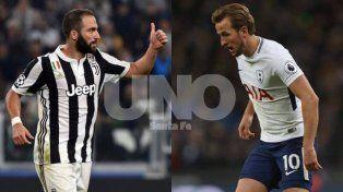 Gran duelo de goleadores en Turín