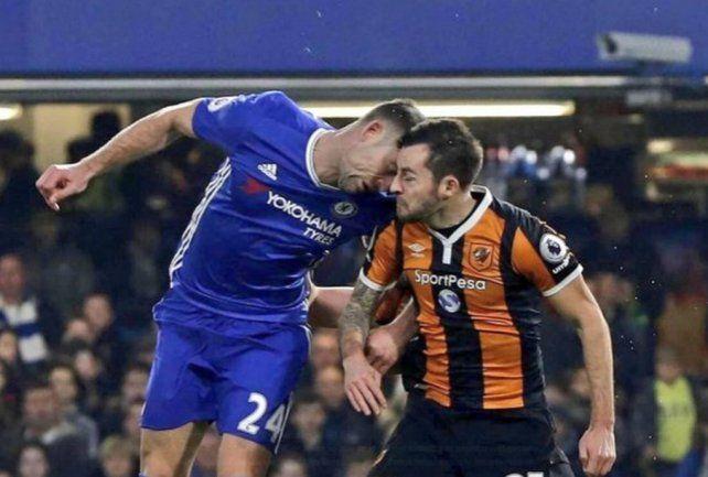 Tras la fractura de cráneo ante el Chelsea, debió abandonar el fútbol