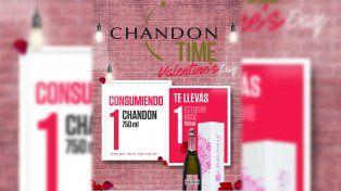 Chandon celebra el día de los enamorados
