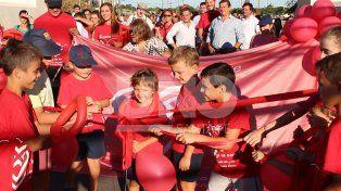 Santa Fe se movilizó por las cardiopatías congénitas