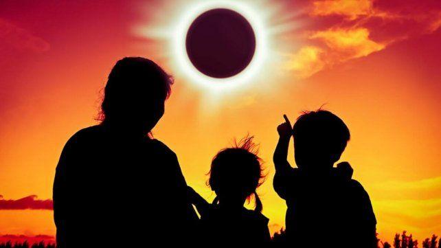 Cómo se verá el eclipse parcial de sol en Santa Fe