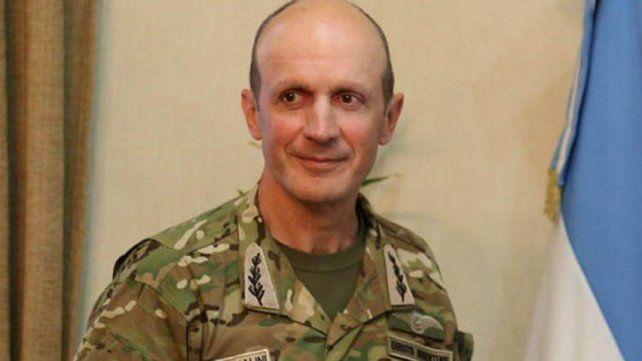 Cambio. Claudio Pasqualini es el nuevo jefe del Ejército