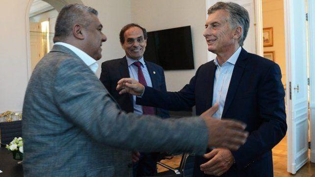 Macri recibió a Tapia para hablar de la candidatura para el Mundial 2030