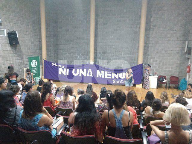 Con el eje en femicidios locales, se realizó la segunda asamblea de mujeres