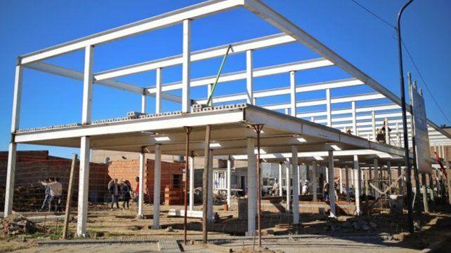 La construcción de viviendas en Guadalupe Oeste presenta un avance del 75%