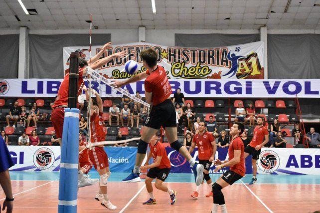 Libertad Burgi ganó pero debió esforzarse más de la cuenta