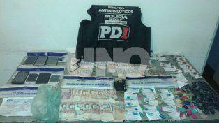 Aprehendieron a vendedores barriales con drogas en barrio Barranquitas