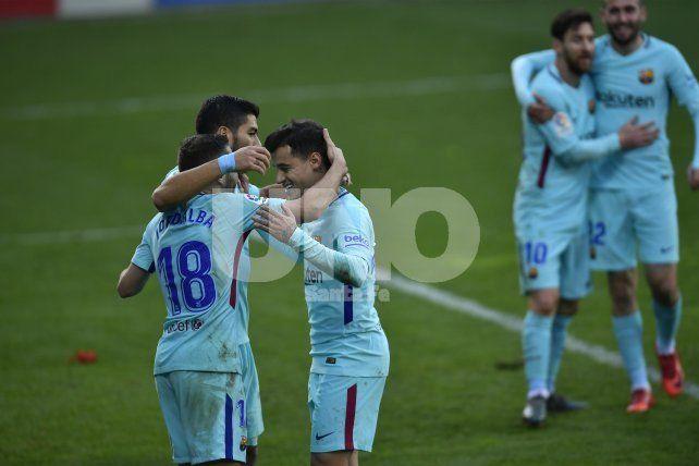 Barcelona volvió al triunfo y se escapa en España
