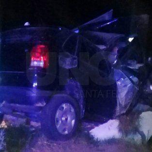 murio una joven de 19 anos que choco contra una garita en la ruta provincial n° 1