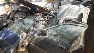 Insospechadas derivaciones con el secuestro de 15 vehículos robados y desguazados