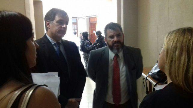 El fiscal regional Arietti y el fiscal Marchi