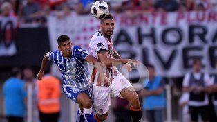 River reaccionó a tiempo para llegar al empate ante Godoy Cruz