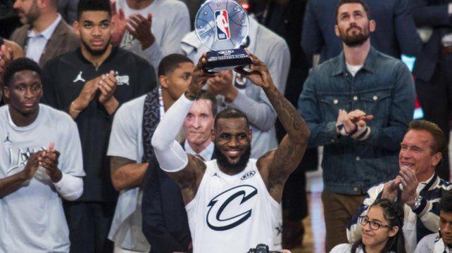 LeBron sigue siendo el Rey
