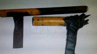 Detuvieron a tres tiratiros y les secuestraron un arma de guerra en barrio Yapeyú