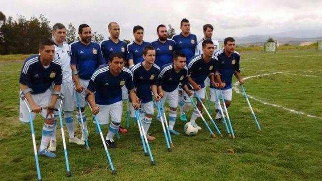 Argentina goleó a Uruguay en el inicio del Sudamericano de fútbol de amputados