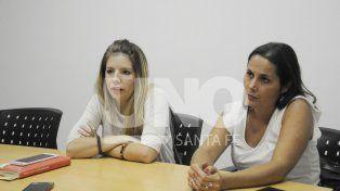 En profundidad. Florencia Freijo (izquierda) estará acompañada en la presentación de esta tarde por Jorgelina Mudallel (derecha).