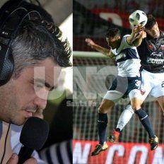 El relator de Gimnasia (LP), a pura puteada en la derrota ante Colón