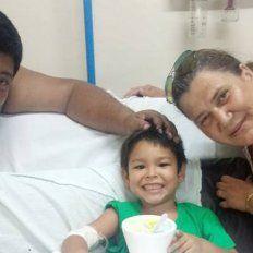 Un matrimonio de policías salvó a un niño de cinco años