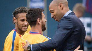 Henry: Neymar debe cambiar de deporte si no quiere estar a la sombra de Messi