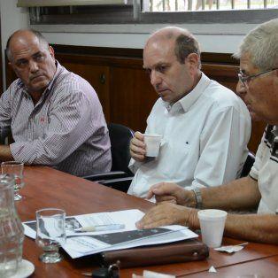 riesgo hidrico: garibay y simoniello acordaron medidas para el area metropolitana