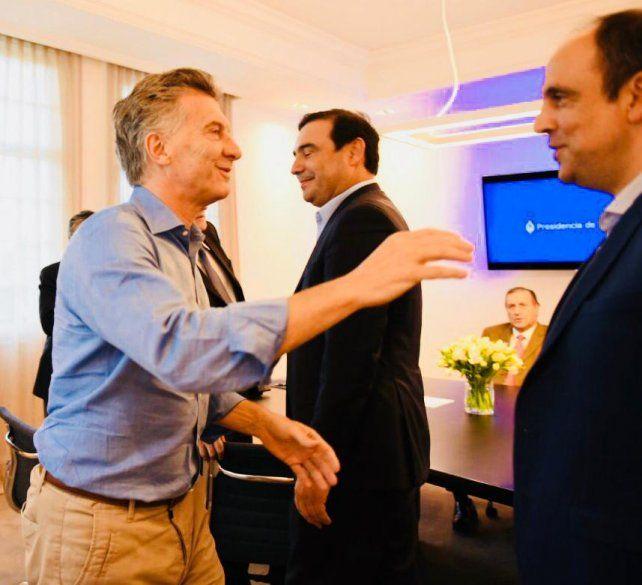 Dirigentes de la UCR se reunieron con Mauricio Macri