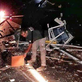 violento triple choque con un camionero muerto y otros dos conductores heridos