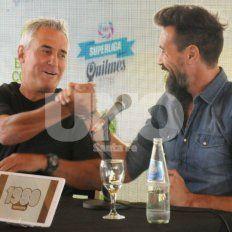 Todo el color del histórico encuentro entre Madelón y Domínguez