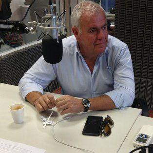Alejandro Cartasso. gerente general de UNO Santa Fe, en los estudios de FM Sol.