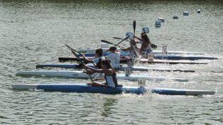 exito total en la 1ª regata del circuito santafesino de canotaje
