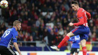 Atlético de Madrid avanzó a octavos de la Europa League