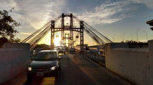 Viernes de sol pleno en Santa Fe